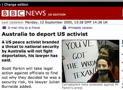 Kim on BBC