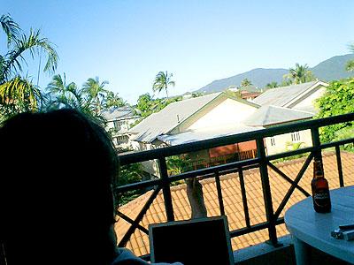Balcony in Cairns