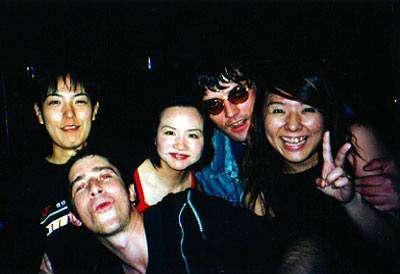 Tokyo with Queenie and Johnny and friends