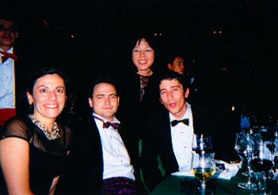 Anne Pappas, Stephen Short, Yoko Harada and Adam